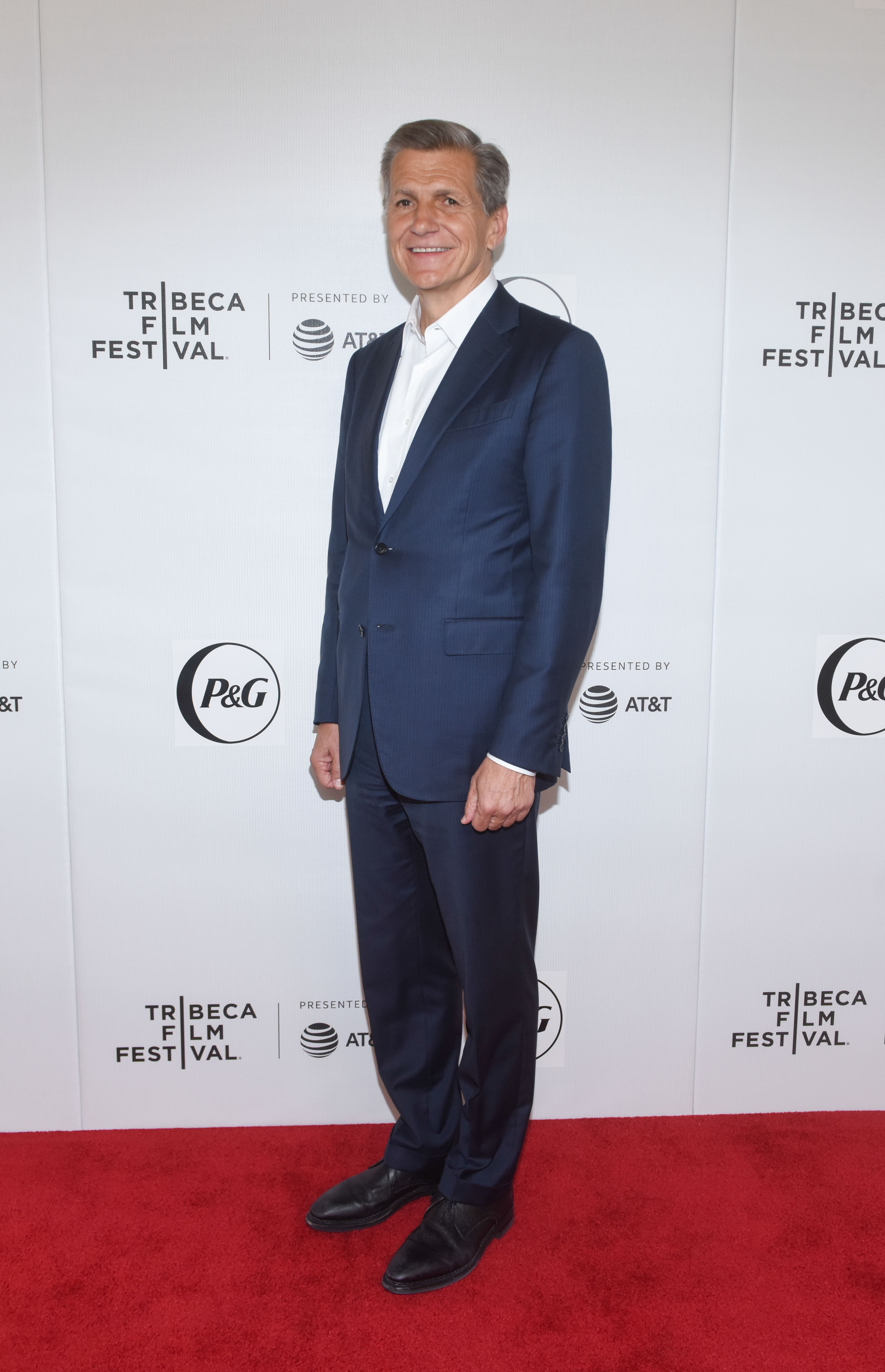 Marc Pritchard attends Tribeca Talks and the Premiere of The Queen Collective Shorts - 2019 Tribeca Film Festival at Spring Studio on April 26, 2019 in New York, NY. (Photo by Jeremy Smith/imageSPACE/Sipa USA)