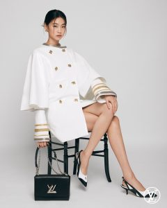 HoYeon Jung Louis Vuitton da Instagram